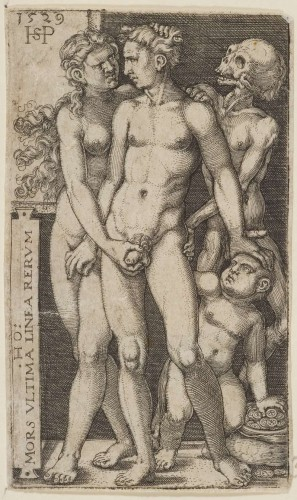 Hans Sebald Beham, Death and the Indecent Pair,1529.jpg