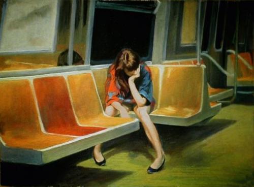 Edward Hopper  - Gayle on the F train.jpg