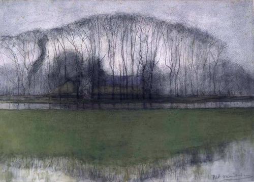 Piet Mondrian, Geinrust Farm in Watery Landscape, 1905_n.jpg