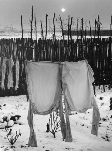 Wolf Suschitzky Frozen shirts, Welwyn Garden City, 1941..jpg