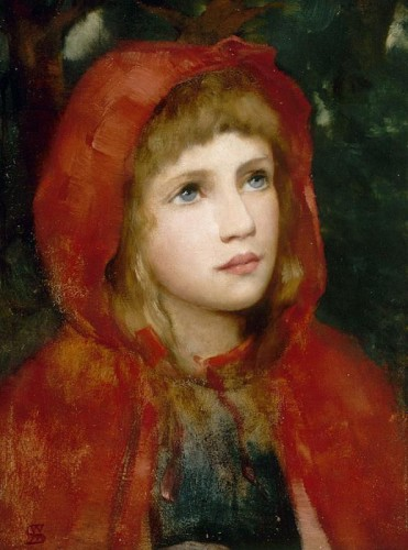 Red Riding Hood by  William M. Spittle .jpg