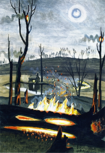 Charles E. Burchfield, Forest Fire in Moonlight,1920 .jpg