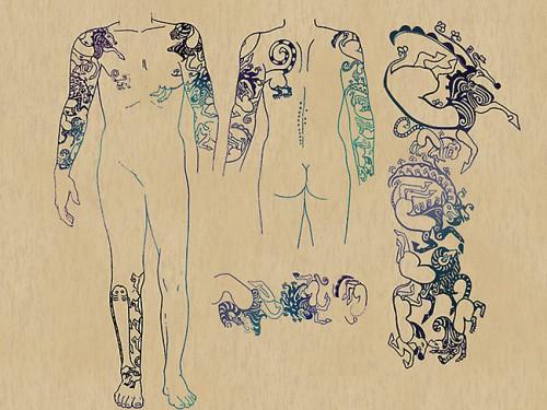 scyth tattoos found on the frozen remains of a Pazyryk warrior1.jpg