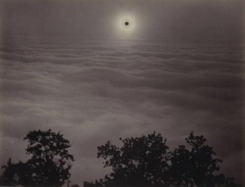 Carleton E. Watkins Solar Eclipse, Santa Lucia Range, California, January 1, 1889.jpg