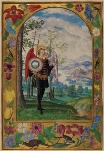 Auteur anonyme - Le Splendor Solis - Traité alchimique manuscrit allemand - 1582 (6).jpg