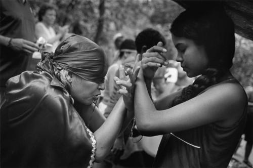 cristina garcia rodero Venezuela. State of Yaracuy. Sorte mountain. Maria Lionza cult. The farewell to Erika the Viking. 2004.b.jpg