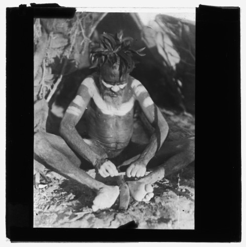 Dr Herbert Basedow Kukatja tribe, central Australia-boomerang.jpg