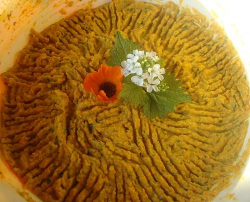 tartinade carotte tofu curcuma orties.JPG