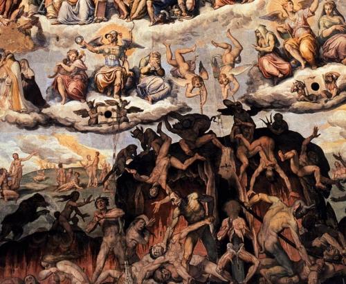 Giorgio vasari..le.jugement.dernier-.detail.-1572-79 Florence-.jpg