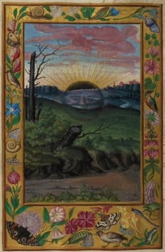 Auteur anonyme - Le Splendor Solis - Traité alchimique manuscrit allemand - 1582 (1).jpg