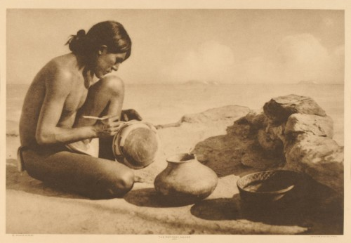 Roland W Reed The Pottery Maker, Hopi 1913.jpg