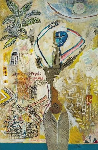 Ahmed Ben Dhiab-Femme d'argile 2003-.jpg