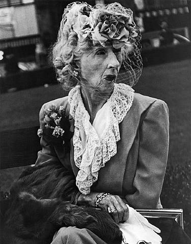 Lisette Model   Woman with Veil, San Francisco, 1947.png