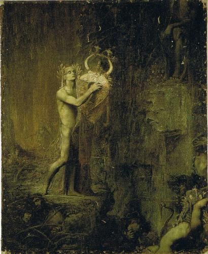 Pierre Amédée Marcel-Béronneau, Orpheus in Hades, Orphée dans I'Hadés..jpg