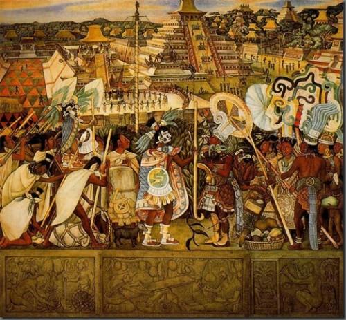 Dieog Rivera Cultura Totonaca, México prehispánico y colonial. 1950.jpg