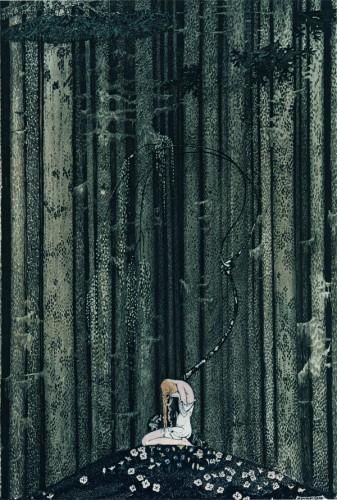 Kay Nielsen At rest in the wood.jpg