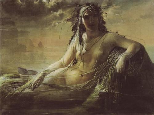 Anna Maria Elisabeth Jerichau-Baumann (1819-1881) - A Mermaid, 1868.jpg