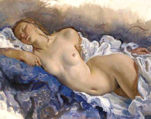Zinaida Serebryakova «Nu dormant» (1931). jpg.jpg