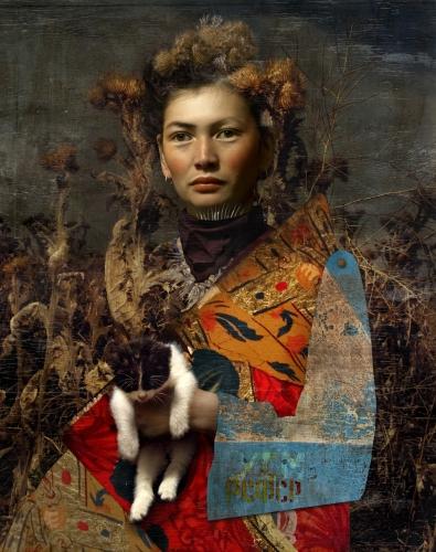 Cooper & Gorfer, Shola and the Cat, 2011.jpg
