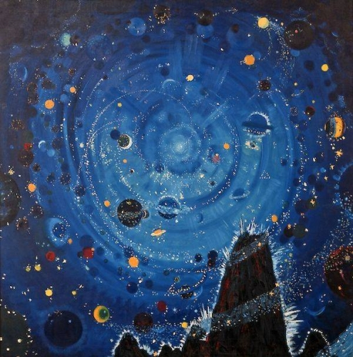 Wenzel Hablik Starry sky, 1909.jpg