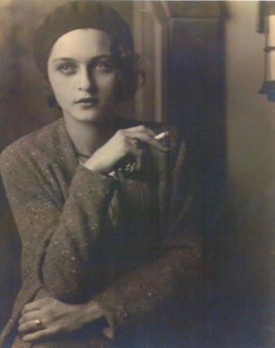 Jon Boris • Corinne Michael West (American expressionist painter, actress and writer, 1908 - 1991) 1930n.jpg