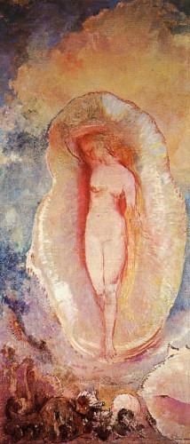 Odilon redon la naissance de Venus 1912.jpg