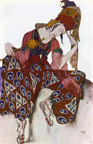 Lev Samoïlovitch Rosenberg, dit Léon Bakst  costume-nijinsky-ballet-.jpg