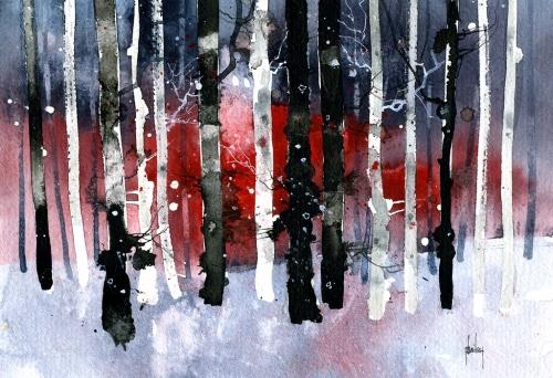 Paul Steve Bailey Black birches.jpg