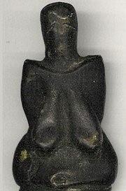Venus of Dolni Vestonice (26,000 BCE). Oldest ceramic work of prehistoric art ever discovered.jpg