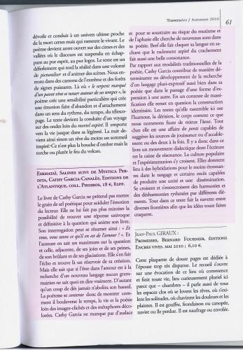 JP Gavard Perret in Traversée n°60 automne 2010.JPG