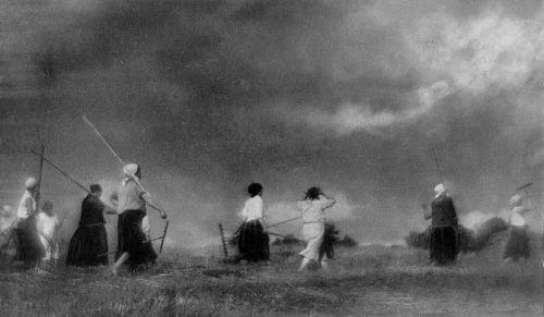 Nikolai Platonovich Andreev • Before the coming storm, 1928n.jpg