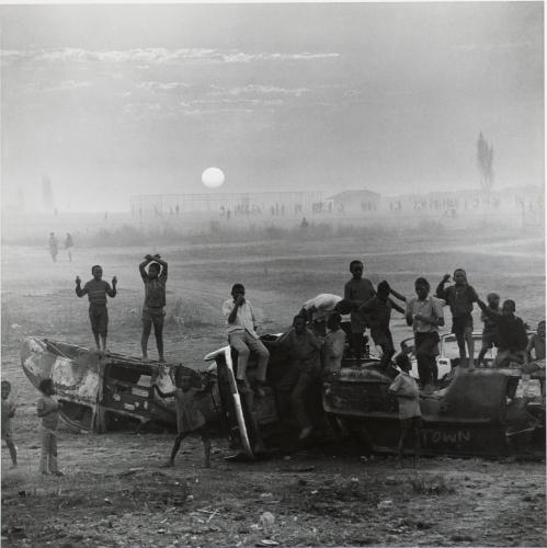David Goldblatt The playing fields of Tladi, Soweto, Johannesburg, August 1972.jpg