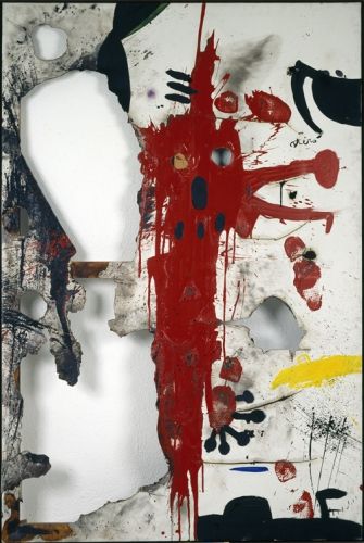Joan Miró, Burned Canvas V, 1973.jpg