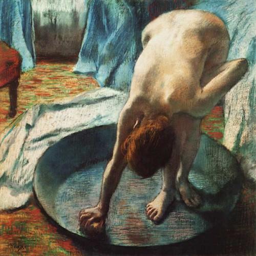 Edgar Degas Femme dans la baignoire .jpg