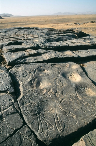 Djaba, Niger. Ground depressions (Early Hunter Period). .jpg