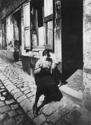 EUGENE ATGET. Prostitute, Paris, 1920s. .jpg