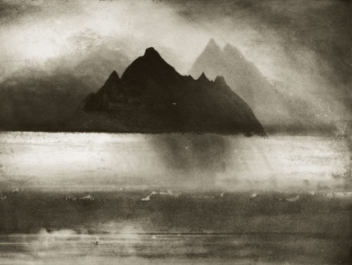 Norman Ackroyd Skellig Rocks, County Kerry Irlande 1987.jpg