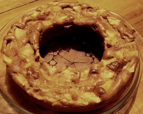 cake aux poires et à la crème de marrons.JPG