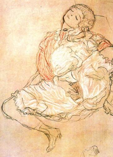 gustav Klimt masturbation 1913.jpg