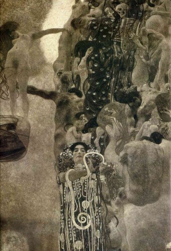 "gustav klimt Medicine"",  Final State, 1907.jpg"