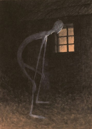 Jaroslav Panuska Death Looking into the Window of One Dying, c.1900 .jpg