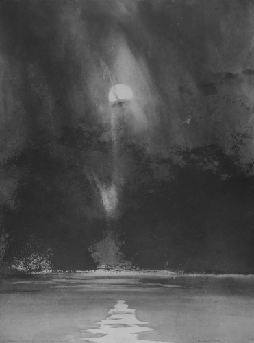 Norman Ackroyd Autumn Sunrise, Windermere 1998.jpg
