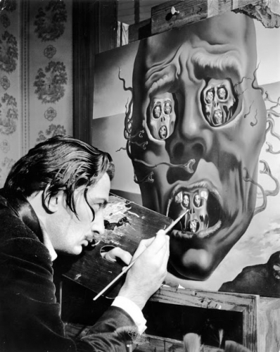 "Salvador ""I don't do drugs I am drugs"" Dalí painting The Face of War, 1941..jpg"