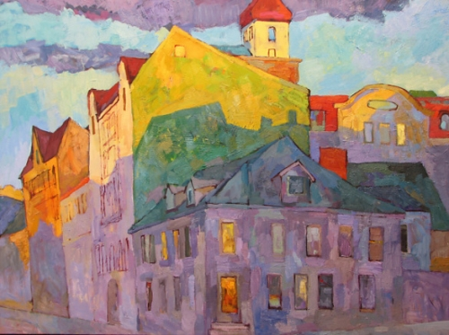 Larisa Aukon, Meet You at the Corner.jpg