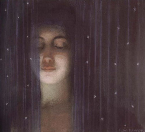 Louis Welden Hawkins, A veil, 1890.0.jpg