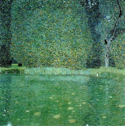 Gustav Klimt 1909 Pond at Schloss Kammer on the Attersee.jpg