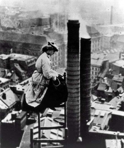 A mason high above Berlin, ca. 1900..jpg