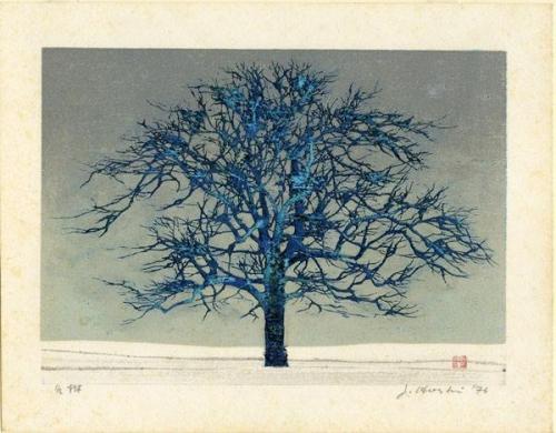 Joichi Hoshi - Winter Tree 1976n.jpg