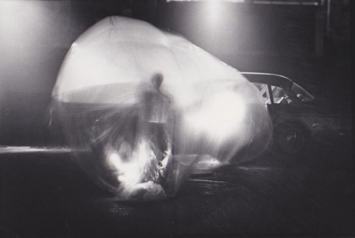 Steve Paxton's performance -Earth Interior- at the Once Again Festival in Ann Arbor, MI, 1965. .jpg