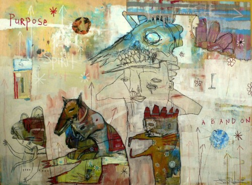 Jesse Reno - Where have you been, where are you now - 91 x 123 cm - 2007.jpg